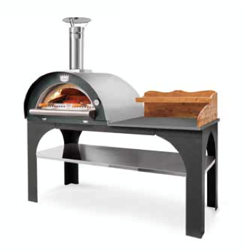 Pizza Party Dach Edelstahl 304
